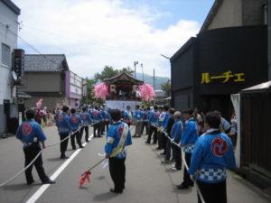 曳山まつり2012