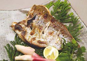 真鯛天然塩〆海洋深層水漬