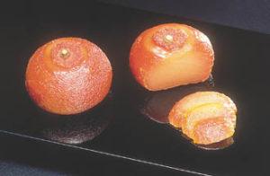 丸柚餅子(まるゆべし)