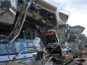金沢デコトラ/アートトラックの展示