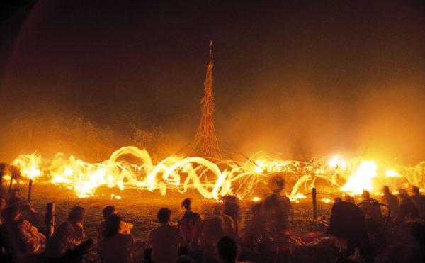 向田の火祭り