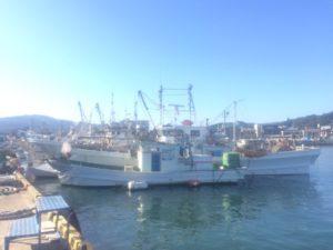 蟹の解禁日の出航