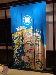 花嫁のれん館内の展示